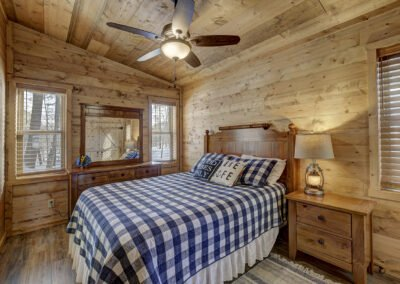 Bass Cabin Bedroom