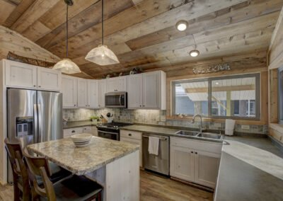 Bass Cabin Kitchen