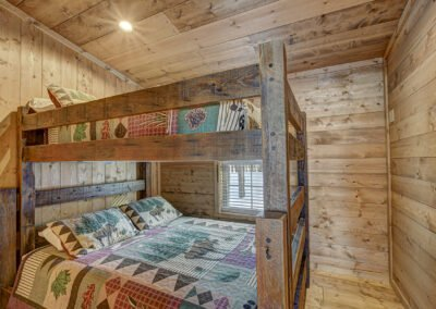 Walleye Cabin Bedroom