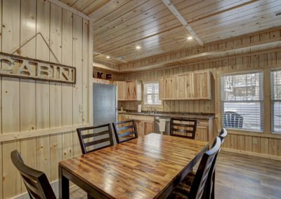 Perch Cabin Dining Area