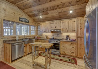 Walleye Cabin Kitchen