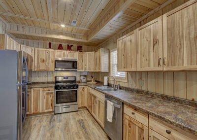 Perch Cabin Kitchen