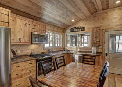 Musky Cabin Kitchen