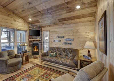 Musky Cabin Living Area
