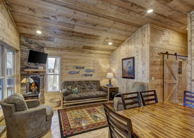 Musky Cabin Living Area 2