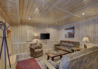 Perch Cabin Living Area