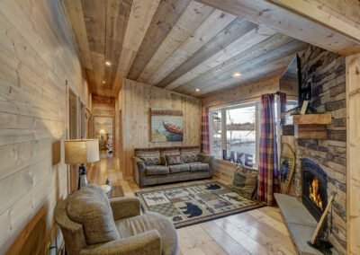 Walleye Cabin Living Room
