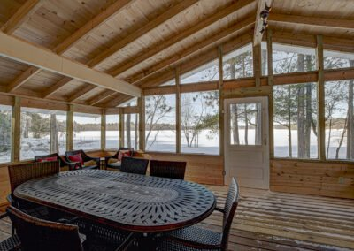 Walleye Cabin Screened Porch